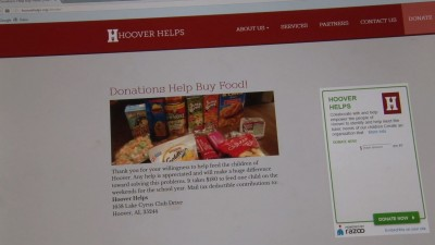 Organization raising funds for needy students in Hoover schools