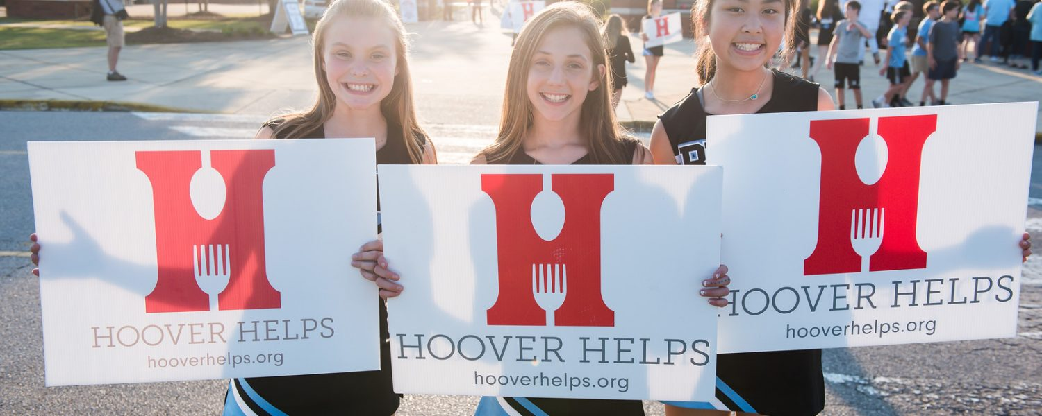 Hoover Helps Hunger Challenge