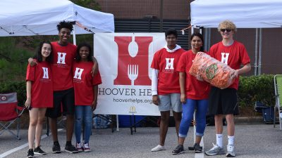 Hoover Helps Meals In Motion Food Drive